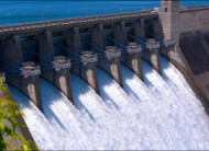 Dam for hydro-electric power