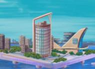 A city on the sea!