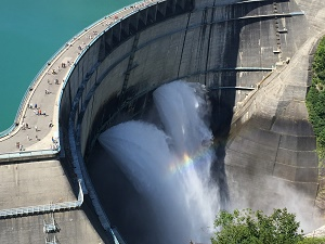 Largest Water Dams Total Soft Water